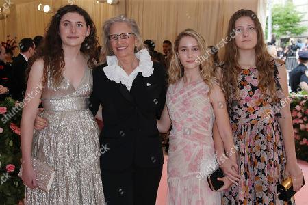 Annie Leibovitz, Sarah Cameron Leibovitz, Samuelle Rhinebeck and Susan Leibovitz