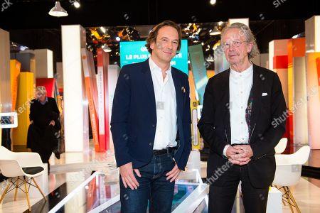 Francois Busnel and Peter Handke