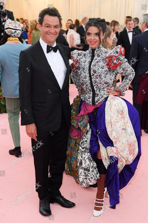 Dominic West and Martha West