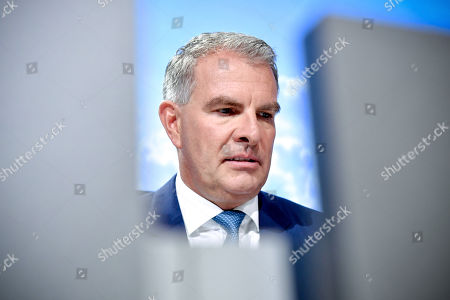 Chief Executive Officer (CEO) Carsten Spohr of German airline Lufthansa attends the annual shareholders' meeting of Lufthansa Group at the World Conference Center (WCC) in Bonn, Germany, 07 May 2019.