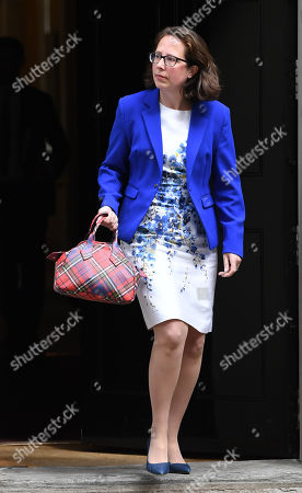 Baroness Natalie Evans, Leader of the House of Lords, leaves a Cabinet Meeting at No.10 Downing Street