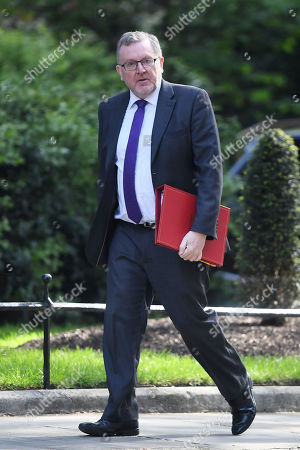 David Mundell, Secretary of State for Scotland, attends a Cabinet Meeting at No.10 Downing Street