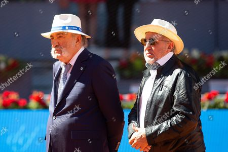 Ilie Nastase of Romania at the Mutua Madrid Open tennis tournament in Madrid, Spain, 12 May 2019.