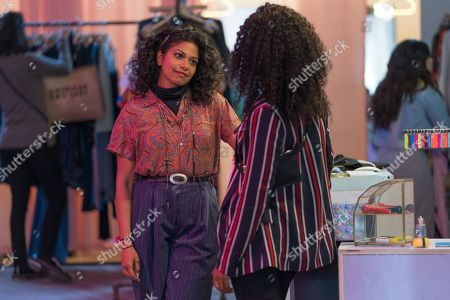 Rebecca Naomi Jones as Leah and DeWanda Wise as Erin Kennedy