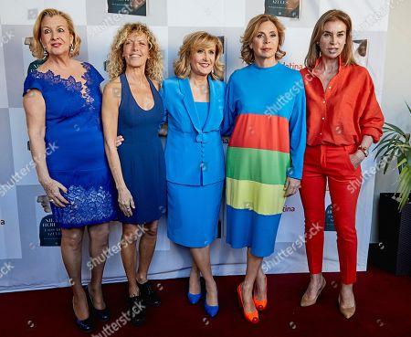Alicia Villamor, Carmen Conesa, Nieves Herrero Agatha R. de la Prada and Carmen Posadas