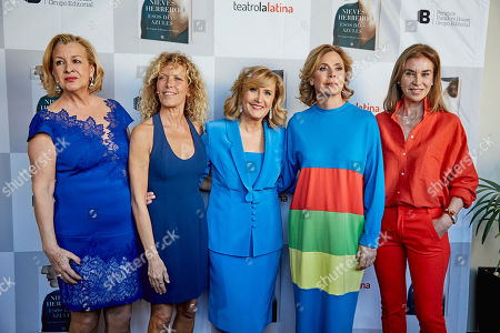 Stock Photo of Alicia Villamor, Carmen Conesa, Nieves Herrero Agatha R. de la Prada and Carmen Posadas