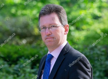 Jeremy Wright, Secretary of State for Digital, Culture, Media and Sport, arrives in Downing Street for the Cabinet meeting.