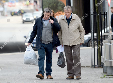 Stock Image of Richard Hawley and David Neilson play Johnny and Roy.