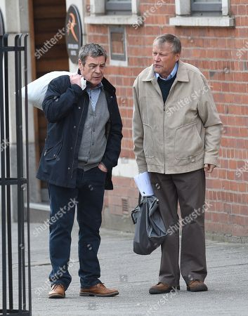 Richard Hawley and David Neilson play Johnny and Roy.