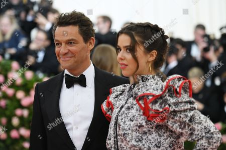 Stock Picture of Dominic West and Martha West