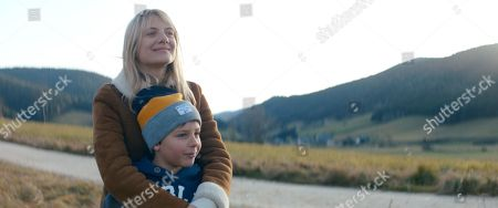 Stock Photo of Melanie Laurent as Marie Blanchard and Lino Papa as Mathys