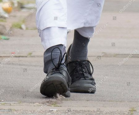 Editorial photo of Anjem Choudary out and about, Ilford, London, UK - 06 May 2019