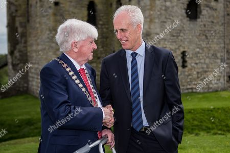 Editorial image of FAI AGM & Festival of Football Launch, Trim Castle/Knightsbrook Hotel, Co. Meath  - 07 May 2019