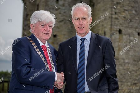 Stock Picture of Meath County Council member Tom Kelly and Republic of Ireland manager Mick McCarthy