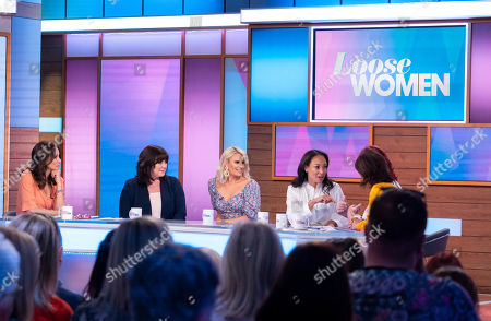 Editorial picture of 'Loose Women' TV show, London, UK - 07 May 2019