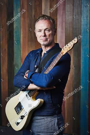 Brantford United Kingdom - June 29: Portrait Of English Musician Gary Kemp Photographed In Brentford On June 29 2018. Kemp Is Best Known As A Guitarist With New Wave Rock Group Spandau Ballet