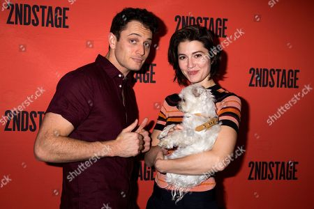 Colin Woodell, Mary Elizabeth Winstead, and Ambrosius