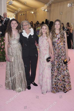 Sarah Cameron Liebovitz, Annie Leibovitz, Samuelle Rhinebeck and Susan Leibovitz