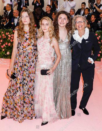 Susan Leibovitz, Samuelle Rhinebeck, Sarah Cameron Leibovitz and Annie Leibovitz
