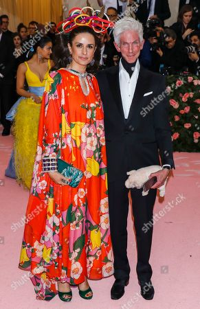 Stock Image of Livia Giuggioli and Richard Buckley