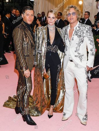 Evangelo Bousis, Poppy Delevingne and Peter Dundas