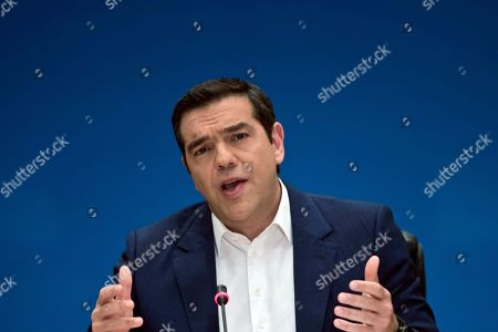 Editorial photo of Economy, Athens, Greece - 07 May 2019