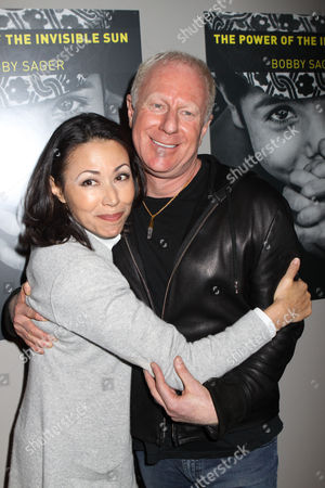 Ann Curry and Bobby Sager