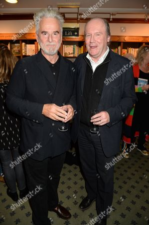 Stock Photo of Trevor Eve and William Boyd