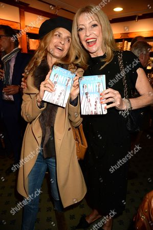 Stock Image of Maryam d'Abo, left, with Sharon Maughan