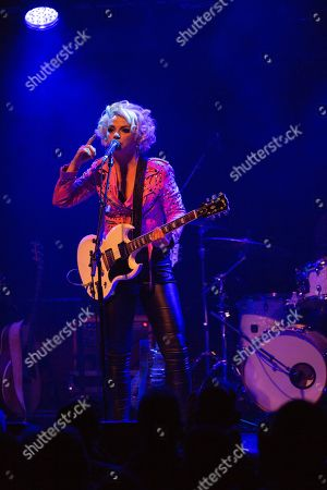 Editorial picture of Samantha Fish in concert at The Sage, Gateshead, UK - 07 May 2019