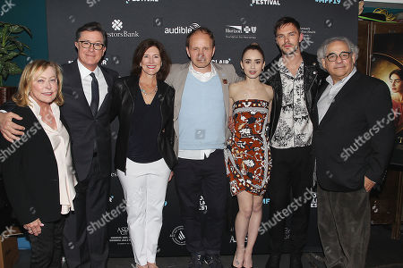 """Editorial image of The Montclair Film Festival """"TOLKIEN"""" Screening and Q&A, moderated by Stephen Colbert, New Jersey, USA - 07 May 2019"""