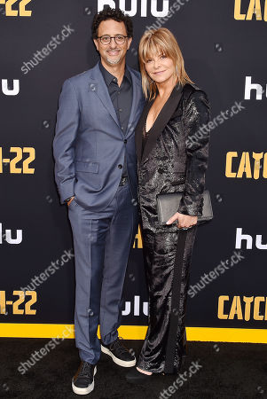 Stock Photo of Grant Heslov and Lysa Hayland