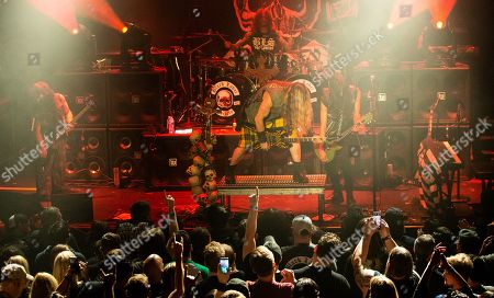 Black Label Society - John DeServio, Jeff Fabb, Zakk Wylde, and Dario Lorina
