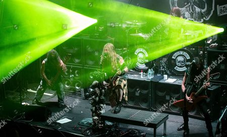 Editorial image of Black Label Society in concert at Bowery Ballroom, New York, USA - 07 May 2019