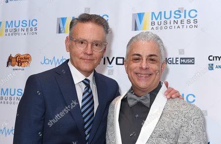 Music Biz 2019 Awards Hall Fame Dinner Stock Photos