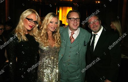 Nancy Sorrell, Caprice, Vic Reeves and Rowland Rivron