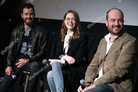 Justin Theroux, Emma Stone and Patrick Somerville