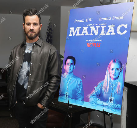 """Editorial photo of """"Maniac"""" Screening and Q&A with Justin Theroux, Emma Stone and Creator Patrick Somerville, New York, USA - 07 May 2019"""