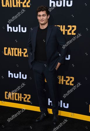 "Rafi Gavron arrives at the Los Angeles premiere of ""Catch-22"" at TCL Chinese Theatre on Tue"