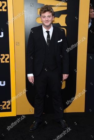 """Josh Bolt arrives at the Los Angeles premiere of """"Catch-22"""" at TCL Chinese Theatre on Tue"""