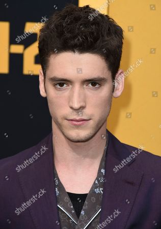 """Stock Image of Pico Alexander arrives at the Los Angeles premiere of """"Catch-22"""" at TCL Chinese Theatre on Tue"""