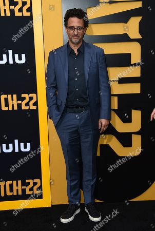 "Grant Heslov arrives at the Los Angeles premiere of ""Catch-22"" at TCL Chinese Theatre on Tue"