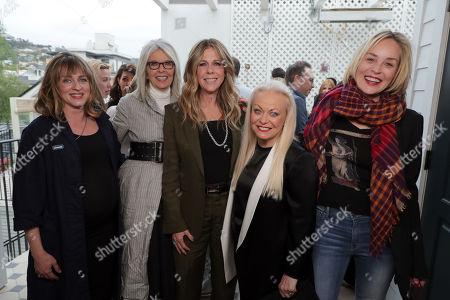 Zara Hayes, Director, Diane Keaton, Rita Wilson, Jacki Weaver and Sharon Stone