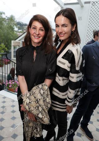 Nia Vardalos and Camilla Belle