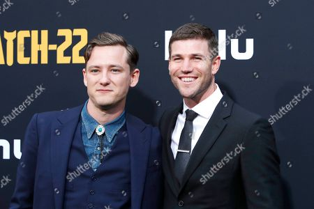 Lewis Pullman (L) and Austin Stowell