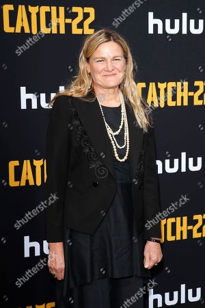 Ellen Kuras arrives for the premiere of Hulu's 'Catch 22' at the TCL Chinese Theatre IMAX in Hollywood, Los Angeles, California, USA 07 May 2019. The movie opens in the US 17 May 2019.