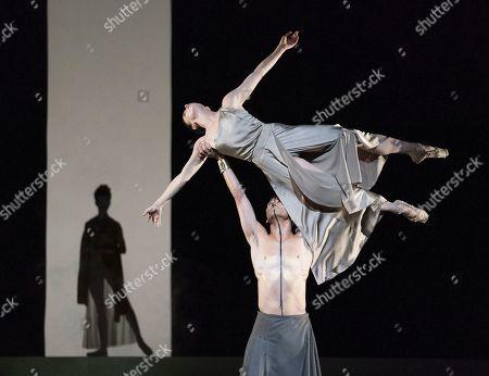 Olivia Cowley as Athena, Natalia Osipova as Medusa, Ryoichi Hirano as Poseidon
