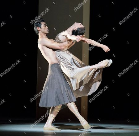 Natalia Osipova as Medusa, Ryoichi Hirano as Poseidon