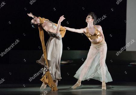 Natalia Osipova as Medusa, Olivia Cowley as Athena,