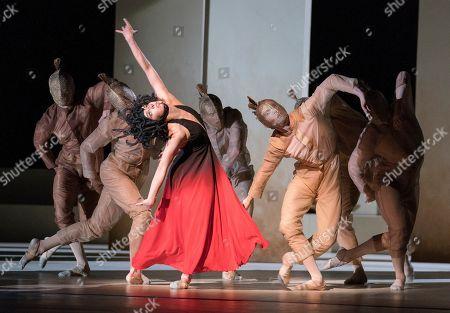 Natalia Osipova as Medusa, Matthew Ball as Perseus